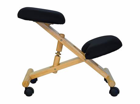 Wooden Ergonomic Kneeling Posture fice Chair